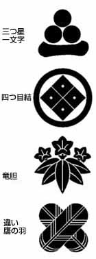家紋を探る-源氏-村上・宇多・嵯...